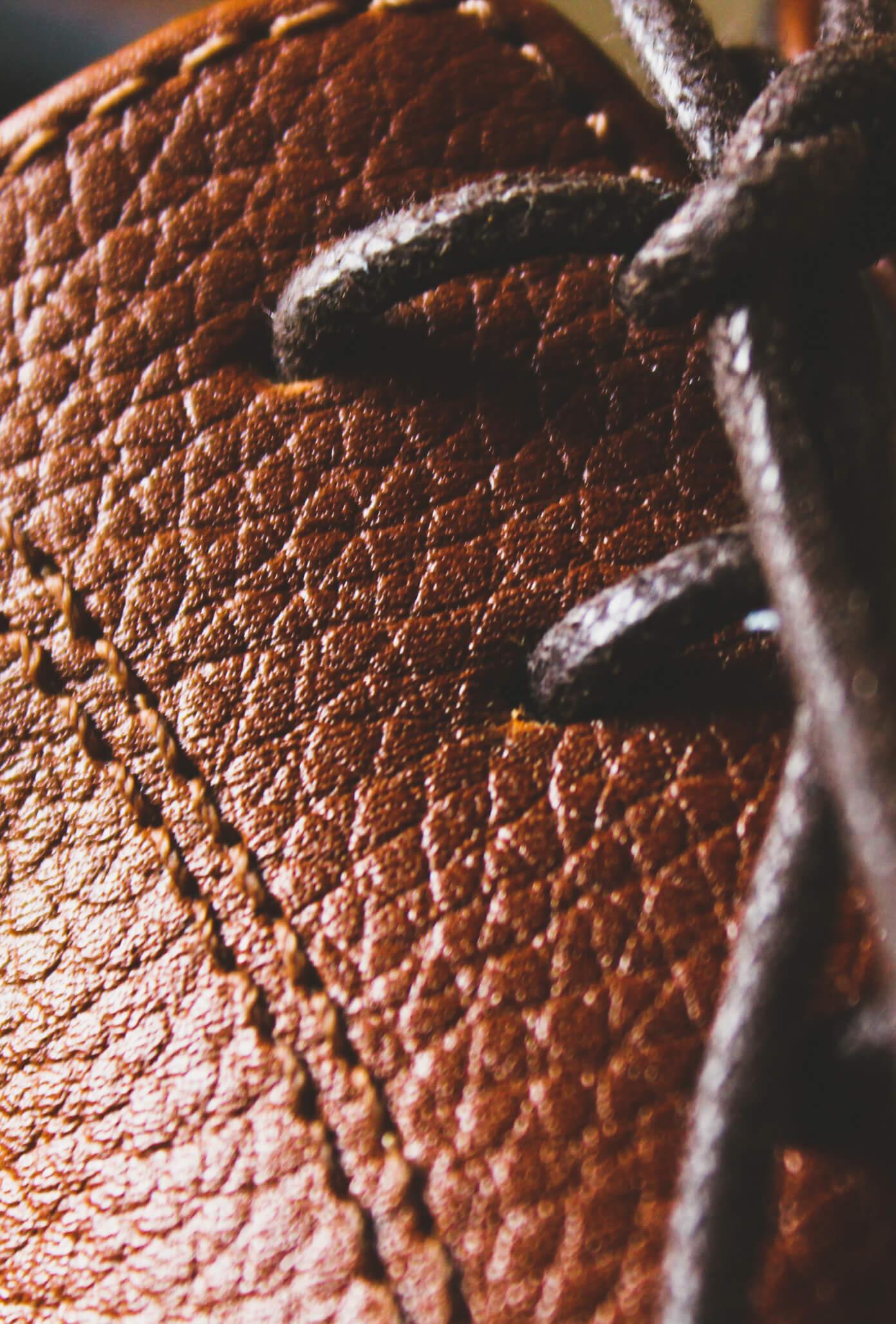 Close sur un lacet de chaussure