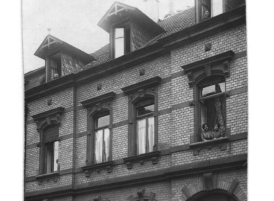 Ancienne facade d'un bâtiment